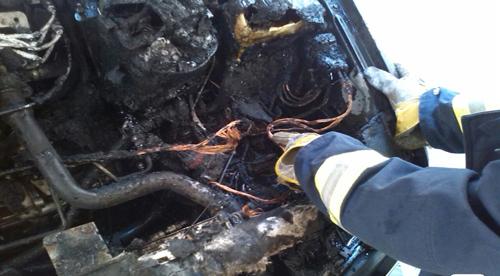آتش سوزی یکدستگاه خودرو در پارکینگ آپارتمان مسکونی