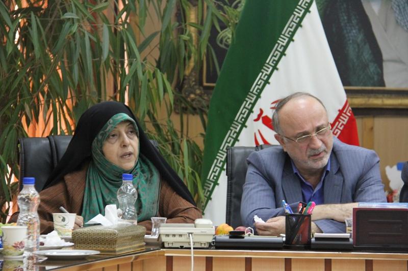 نشست مشترک استاندار گیلان، مجمع نمایندگان و رئیس سازمان حفاظت محیط زیست
