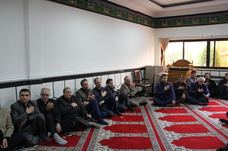 برگزاری مراسم عزاداری دههی اول محرم در استانداری