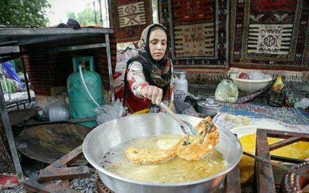 نخستین جشنواره پاسداشت ثبت جهانی فرهنگ پخت نان های تخت (نازک) برگزار شد.