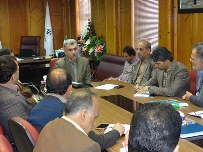 تشکیل جلسه برای پیشگیری از سوزندان پسماندهای کشاورزی در رضوانشهر