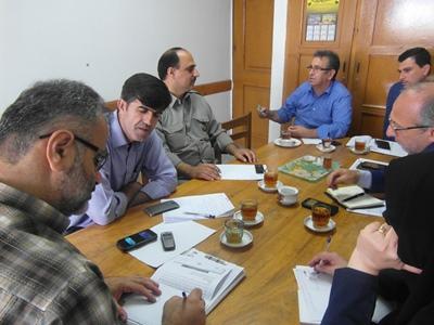 برگزاری جلسات هماهنگی و بازدید های مشترک جهت جلوگیری از آتش زدن کاه و کلش در لنگرود