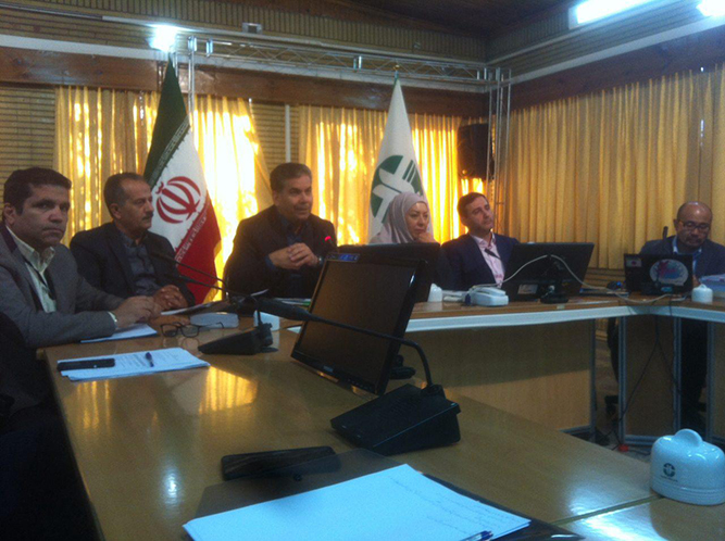 بحث و تبادل نظر در خصوص پروژه مدیریت اکولوژیک تالاب انزلی