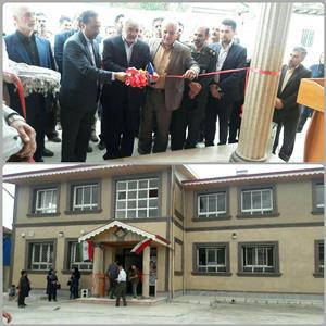 افتتاح دو پروژه آموزشی در تالش در هفته دولت