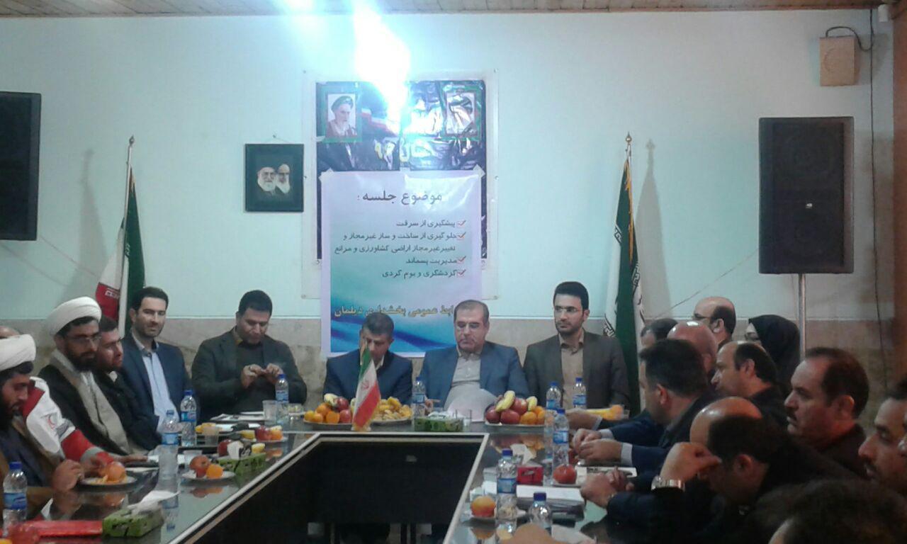 برگزاری کارگاه آموزشی دهیاران و شوراهای اسلامی  بخش دیلمان و پیرکوه سیاهکل