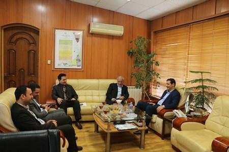 دیدار نماینده مردم رشت در مجلس شورای اسلامی با مدیر کل حفاظت محیط زیست گیلان