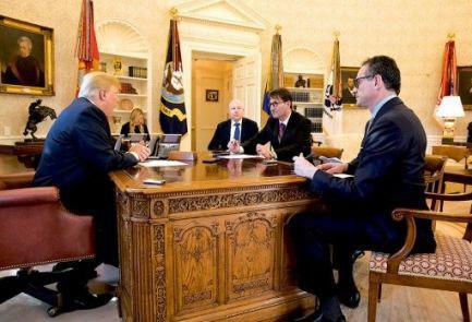 در مصاحبه با رسانه صهیونیستی؛  ترامپ: برجام برای اسرائیل فاجعه است