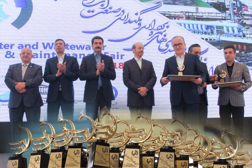 کسب طرح برگزیده در بخش ابداعات و اختراعات سومین جشنواره و نمایشگاه توانمندی های بهرداری صنعت آب و فاضلاب کشور