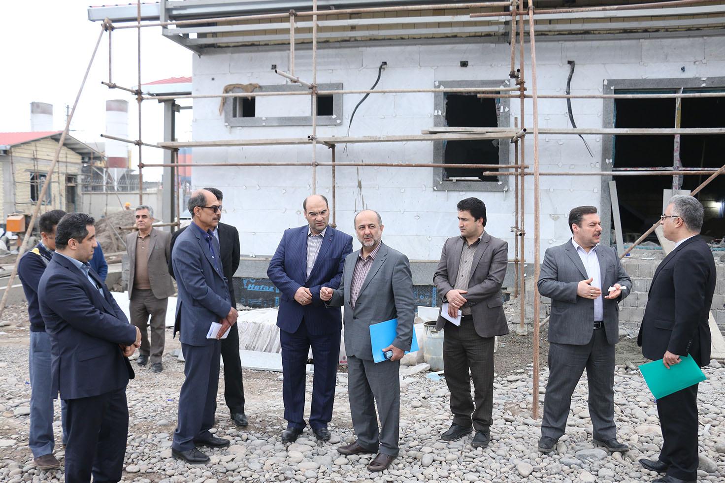بازدیدرئیس دیوان محاسبات استان گیلان؛ از پروژه های در دست احداث شرکت برق منطقه ای گیلان