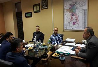 باحضور شهردار رشت برگزار شد نخستین نشست اعضای شورای اسلامی کار با شهردار رشت برگزار شد
