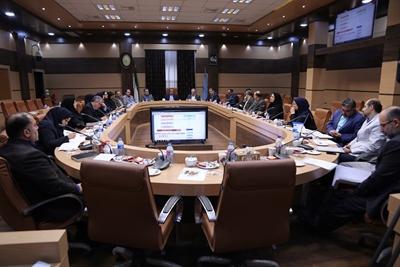 شصت و هشتمین جلسه شورای راهبردی دانشگاه علوم پزشکی گیلان برگزار شد