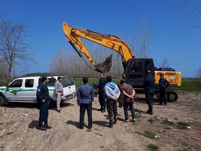 به همت اداره حفاظت محیط زیست شهرستان بندرانزلی  دستگیری چهار متخلف در انزلی