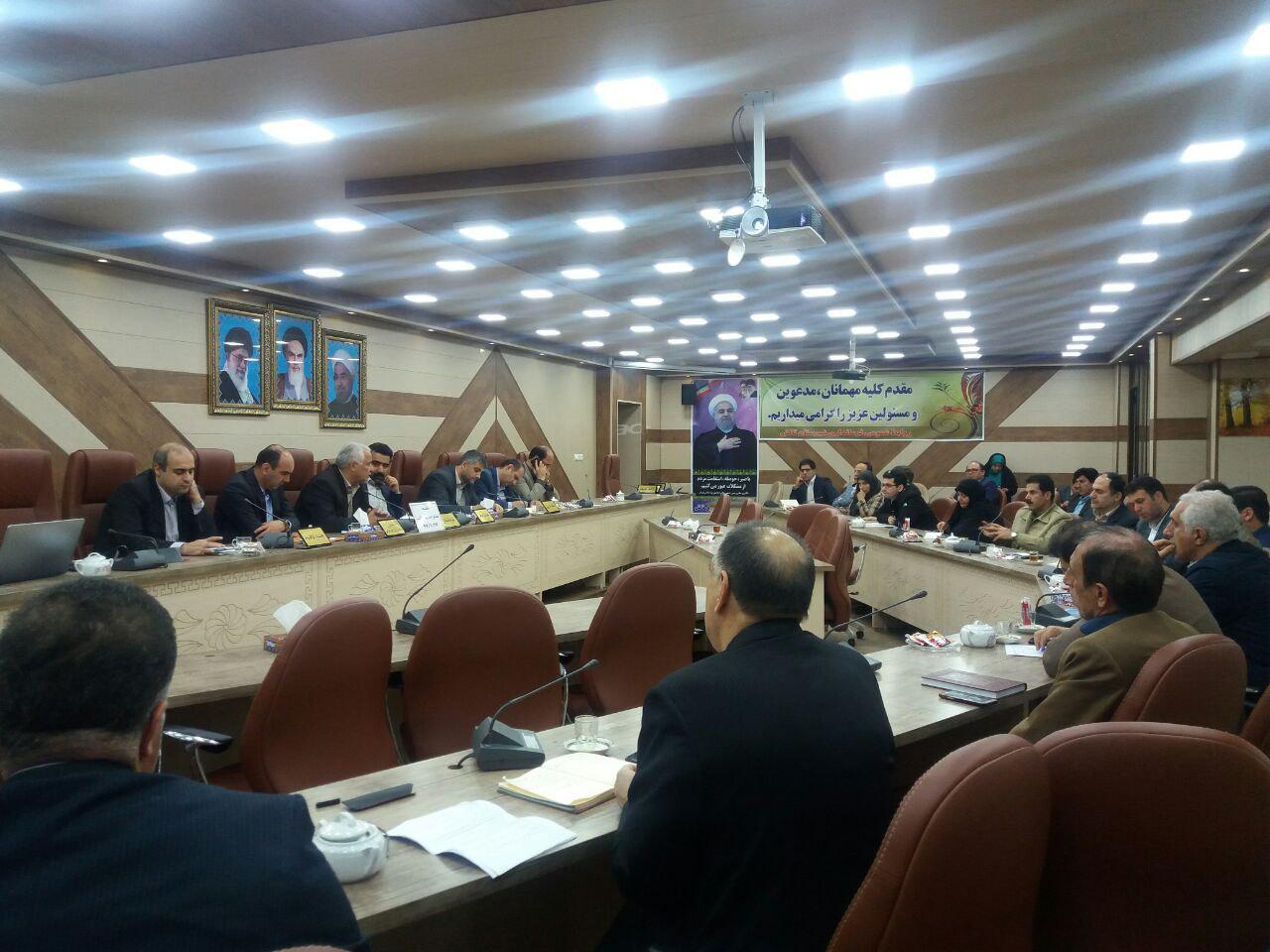 برگزاری اولین جلسه کارگروه مدیریت پسماند شهرستان تالش