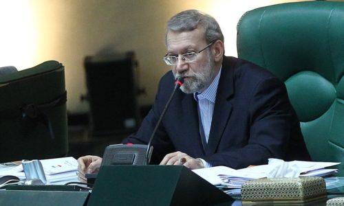 لاریجانی در نطق پیش از دستور:  مسئولان جمهوری اسلامی منتظر وعدههای بی زمان اروپا نمیمانند/اروپا تصمیم خود را سریعتر اعلام کند