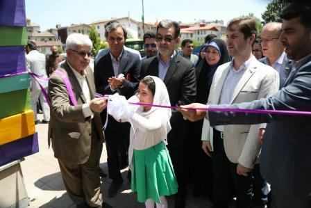 افتتاحیه بوستان کتاب رشت