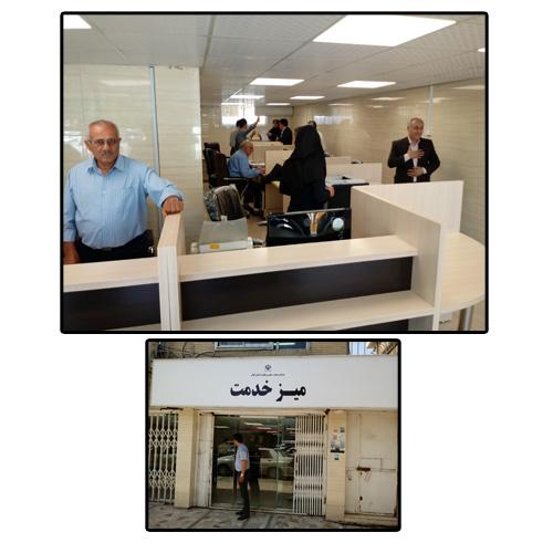 دکتر فرهاد دلق پوش:  میزخدمت به صورت تخصصی در بخش تولید و تجارت گیلان تشکیل گردید