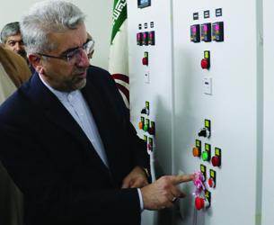 همزمان با هفته دولت با حضور وزیر نیرو صورت گرفت:  بهره برداری از ایستگاه پمپاژ فاضلاب منطقه شرقی رشت