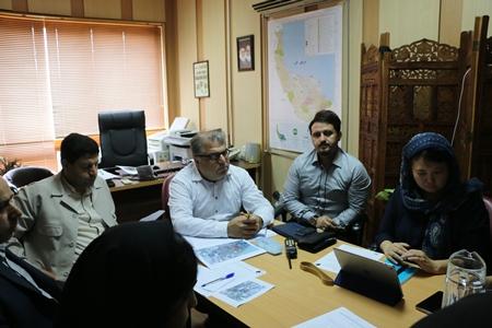 تشکیل جلسه زیر کمیته آموزش در اداره کل حفاظت محیط زیست گیلان