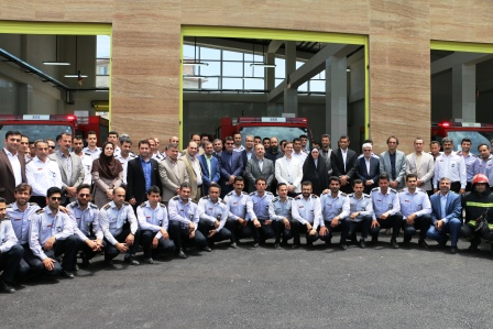 تبریک مهندس ناصر عطایی مدیر منطقه یک شهرداری رشت طی پیامی فرا رسیدن روز آتش نشانی و ایمنی