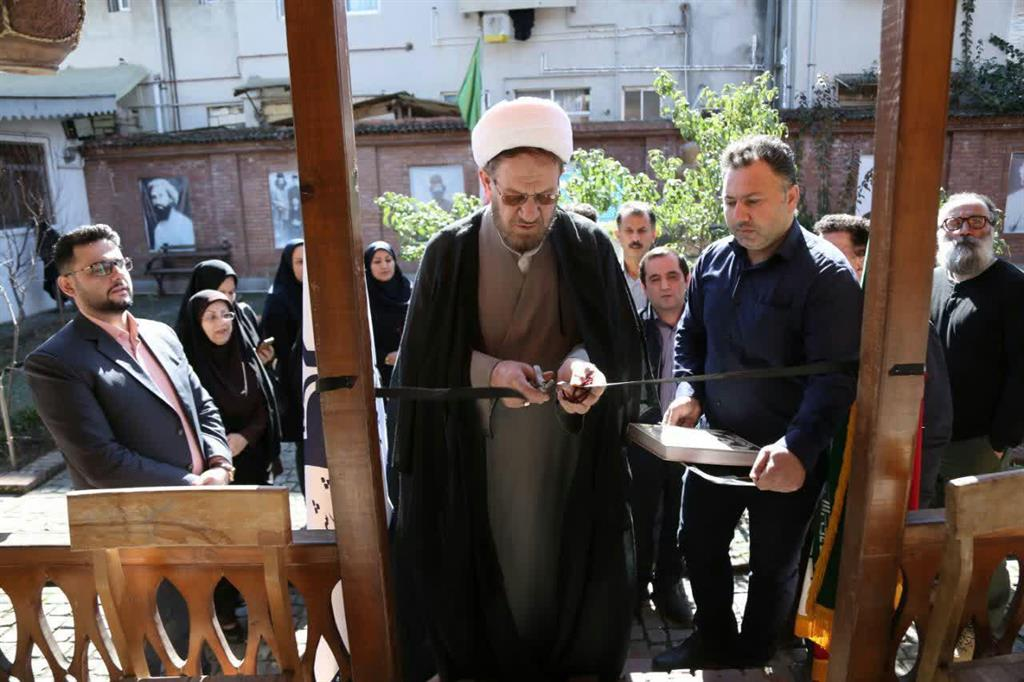 """نمایشگاه جست """"روضه های اصیل"""" رشت در خانه میرزا افتتاح شد"""