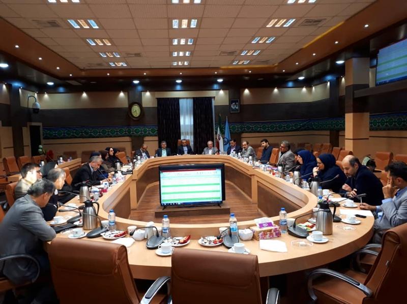 هفتاد و هشتمین جلسه شورای راهبردی دانشگاه علوم پزشکی گیلان برگزار شد