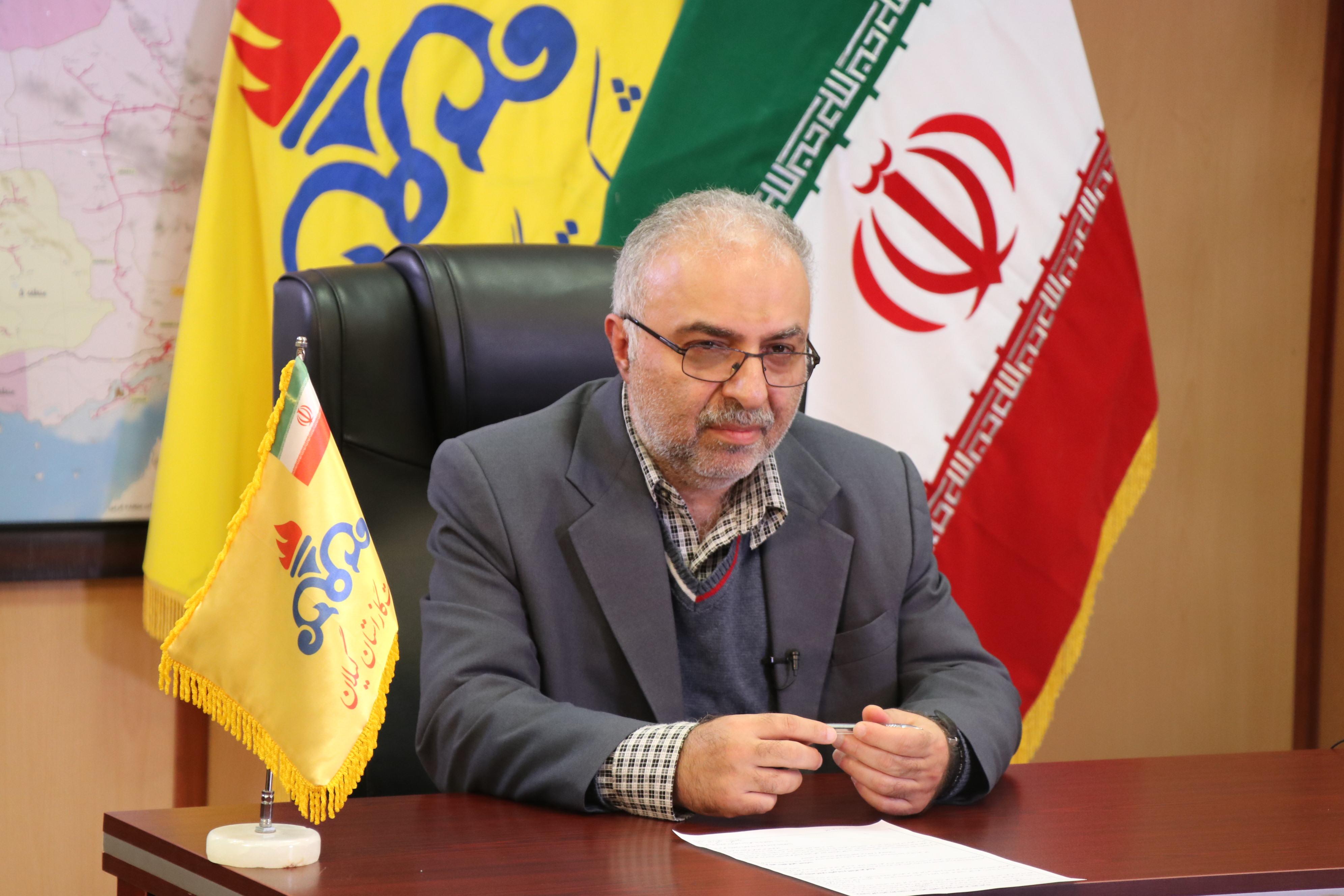 مدیرعامل شرکت گاز استان گیلان :تاکیدبر استفاده از وسایل گرمایشی استاندارد