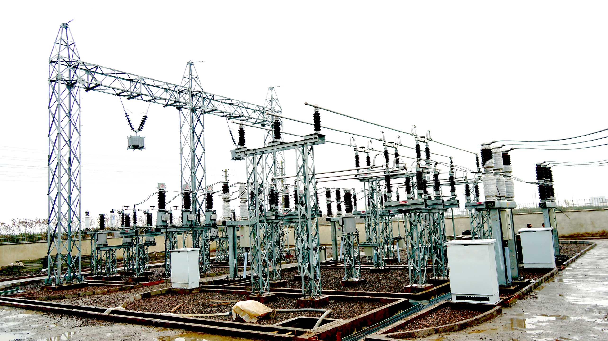 مجری طرح پستهای معاونت طرح وتوسعه شرکت سهامی برق منطقهای گیلان:  بهره برداری از پست ۶۳/۲۰ کیلوولت شهرک صنعتی سپیدرود