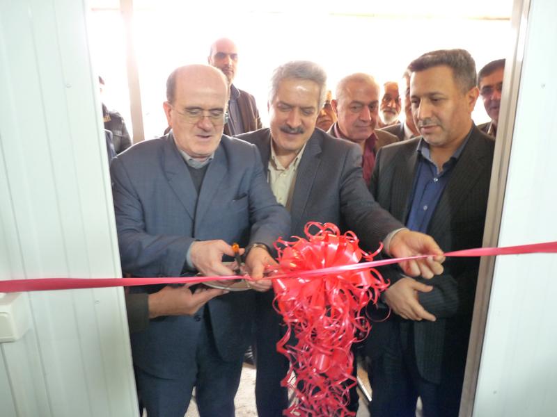 افتتاح ساختمان اداره توزیع برق چاف و چمخاله