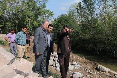 شهردار منطقه یک رشت : احداث دیوار حفاظتی رودخانه زرجوب در محدوده پل توحید