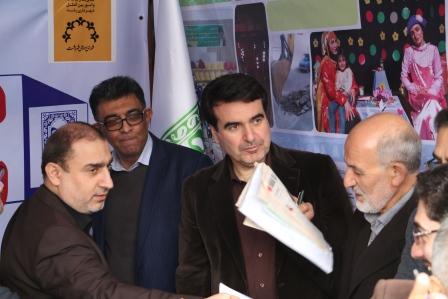 ملاقات عمومی مدیر منطقه یک رشت و مسئولین دستگاههای اجرایی استان گیلان در پیاده راه فرهنگی رشت؛