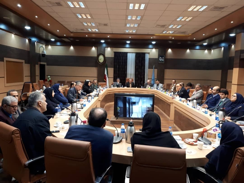 هشتاد و پنجمین جلسه شورای راهبردی دانشگاه علوم پزشکی گیلان برگزار شد