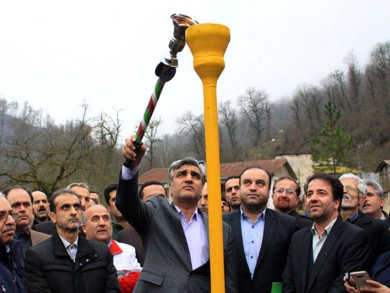 در دومین روز از دهه فجر انقلاب اسلامی ایران؛  ۴۶۱خانوار روستایی رضوانشهر و ماسال از نعمت گاز برخوردار شدند