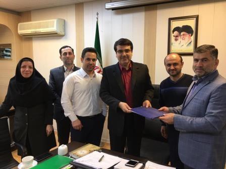 انعقاد تفاهم نامه شهرداری منطقه یک رشت با شرکت تعاونی مصرف کارکنان شهرداری