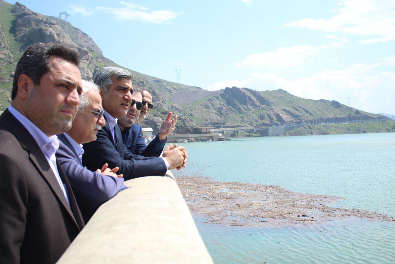 استاندار گیلان در حاشیه بازدید از سد سفیدرود:  در سال زراعی جدید مشکل کمبود آب کشاورزی نخواهیم داشت