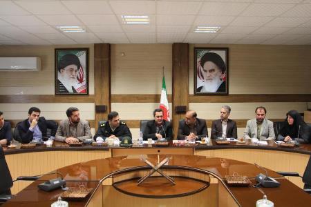 نخستین نشست کارگروه مدیریت پسماند شهرستان رودبار در سال جدید