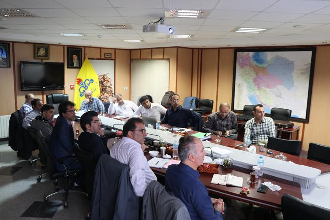 جلسه تدوین پیش نویس دستورالعمل اجرایی خطوط EXPOSE شرکت گاز گیلان برگزار شد