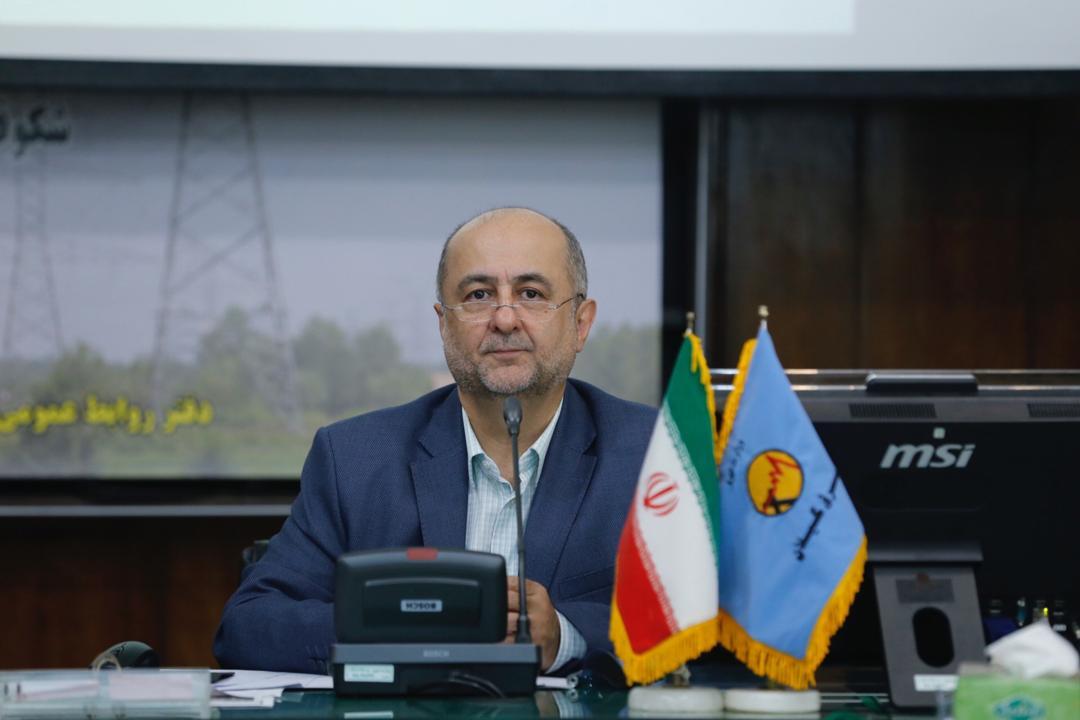 مدیرعامل شرکت برق منطقه ای گیلان:  همکاری ۵۵ مگاواتی صنایع استان گیلان جهت کاهش بار مصرفی