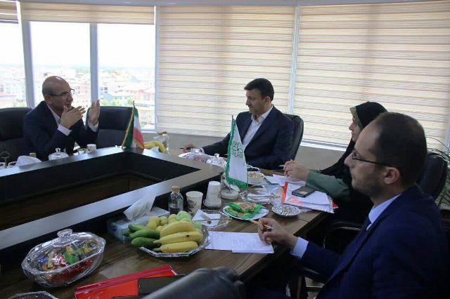 بازدید شهردار رشت از سازمان سرمایه گذاری و مشارکتهای مردمی شهرداری
