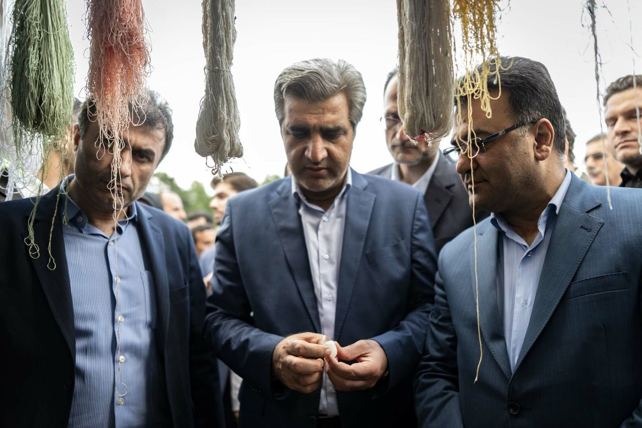 برگزاری جشنواره گلابگیری در گیلده شفت با حضور استاندار گیلان
