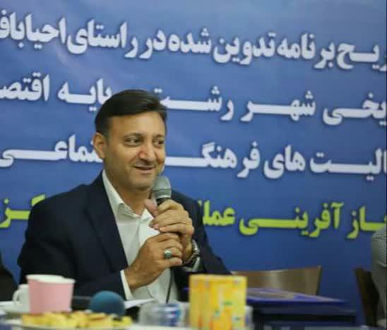 ناصر حاج محمدی شهردار رشت:   صنعت ساختمان در ایران یک صنعت وارداتی و بی هویت است