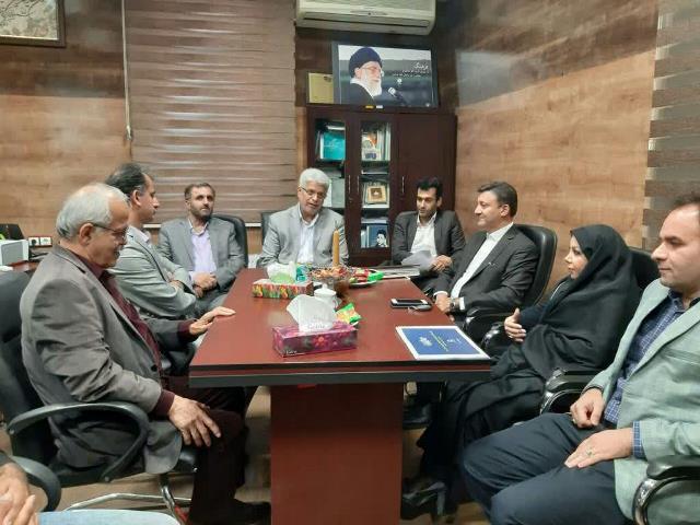 گزارش تصویری نشست شهردار با رییس و معاونین سازمان فرهنگی، اجتماعی و ورزشی شهرداری رشت