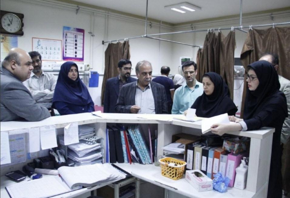 تشدید نظارت ها در حوزه درمان؛حضور سرزده مسوولان دانشگاه علوم پزشکی گیلان در بیمارستان صومعه سرا