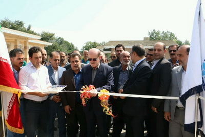 افتتاح طرح آبرسانی به ۴۰۰ خانوار روستای مریدان شهرستان لنگرود