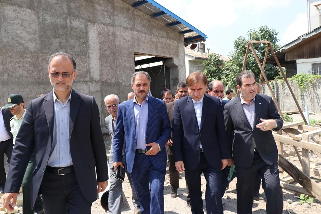 بازدید سرپرست استانداری گیلان از پروژههای عمرانی شهرستان آستانهاشرفیه