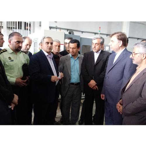 به مناسبت هفته دولت:  افتتاح دو واحد صنعتی در لاهیجان