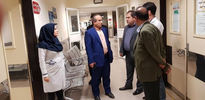 بررسی روند ارایه خدمات درمانی در بیمارستان امام رضا (ع) شفت