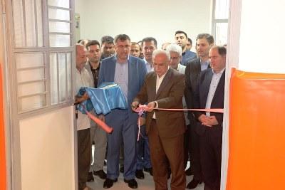 در پنجمین روز از هفته دولت صورت گرفت؛افتتاح سالن ورزشی چند منظوره هنرستان شهید چمران رشت