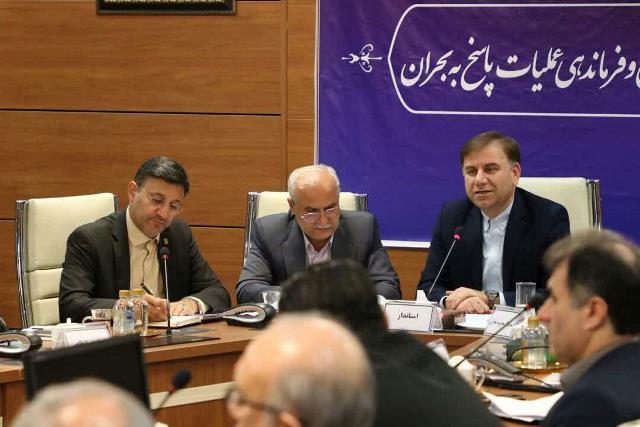 گزارش تصویری حضور شهردار رشت در جلسه ستاد پیشگیری، هماهنگی و فرماندهی عملیات پاسخ به بحران