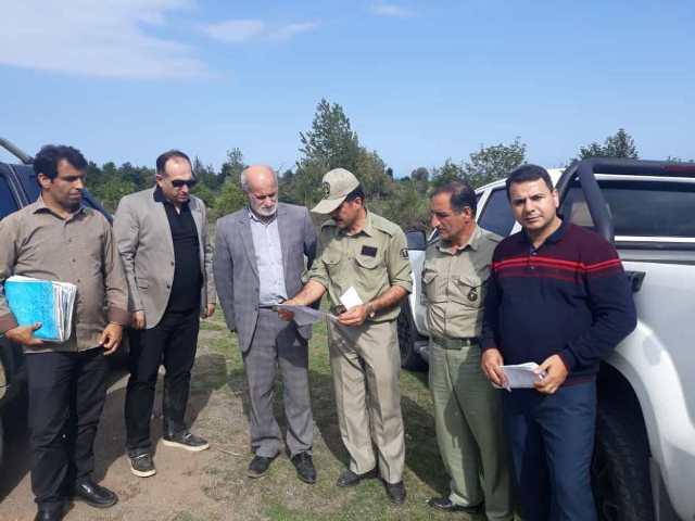 بازدید نمایندگان دیوان محاسبات استان گیلان از منطقه حفاظت شده لیسار