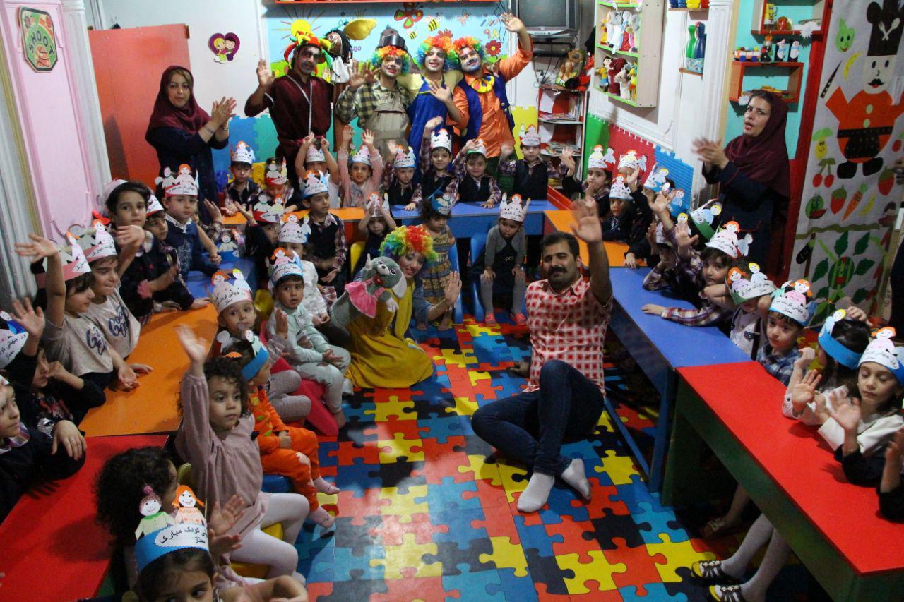 ویژه برنامه فرهنگی سازمان مدیریت پسماندهای شهرداری رشت به مناسبت هفته جهانی کودک